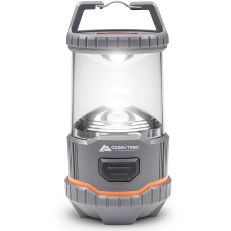 Ozark Trail Outdoor Equipment 200 Lumen Multi-Mode Camping Lantern - Battery Operated Lantern