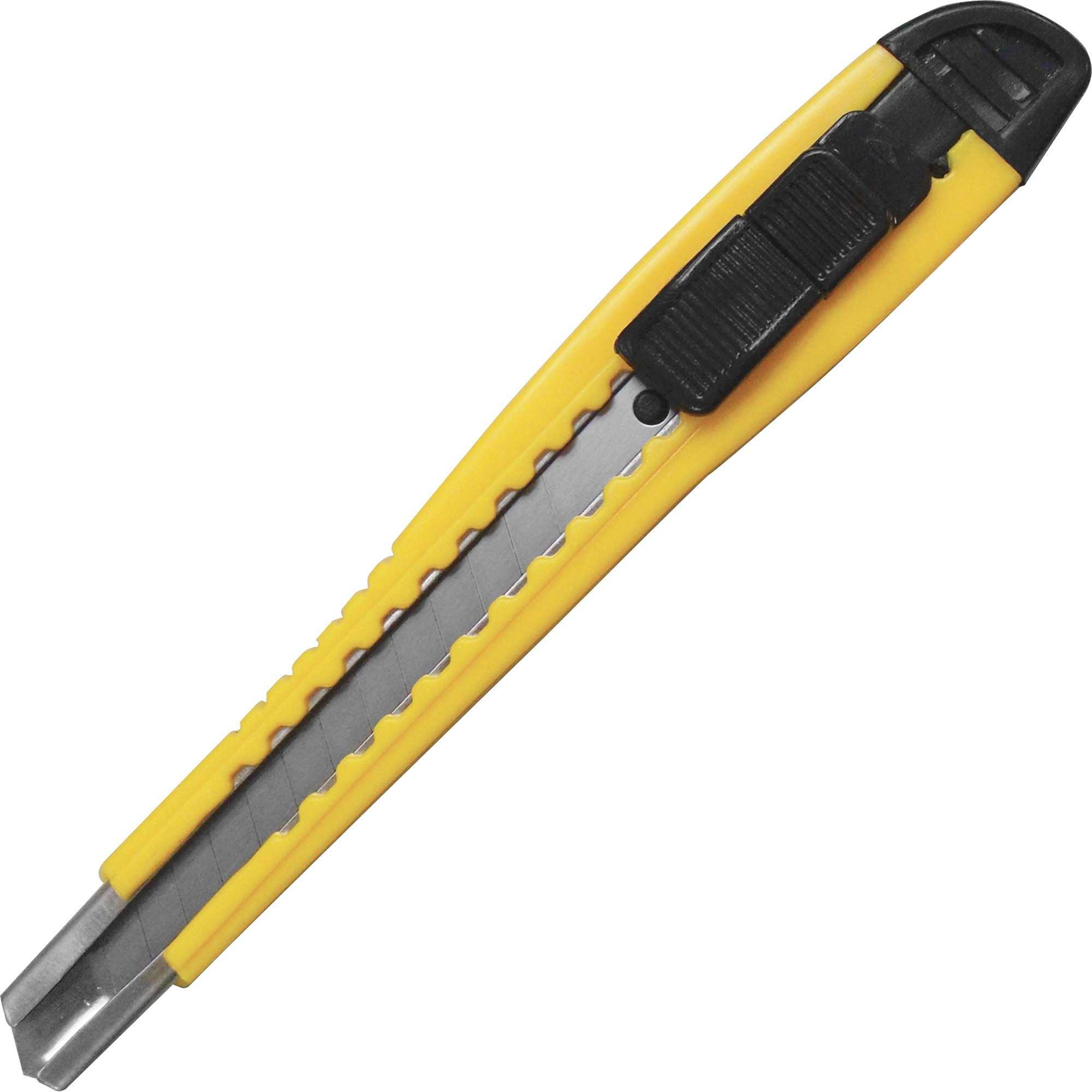 Sparco, SPR01470, Fast-Point Snap-Off Blade Knife, 1 Each, Yellow