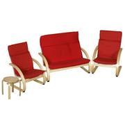 Bentwood 4 Piece Comfort Living Room Set
