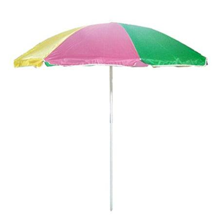 Sx 8ft Dia Rainbow Patio Market Umbrella Beach