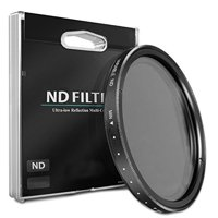 58mm ND Variable Neutral Density Filter for Canon EF 75-300mm f/4-5.6 III Lens