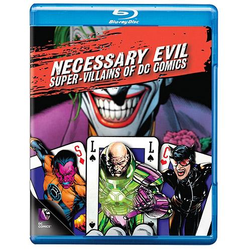 Necessary Evil: The Villains Of DC Comics (Blu-ray)