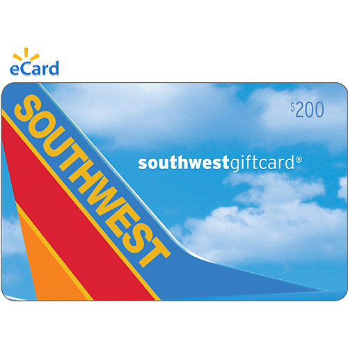 (Email Delivery) Southwest Airlines $200 eGift Card