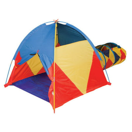 Pacific Play Tents Find Me A' La Mode Tent and Tunnel Combo