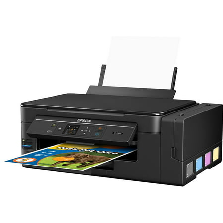 Epson Expression ET-2650 EcoTank Wireless Color All-in-One Supertank Printer with Scanner and (Best Small Office Scanner)