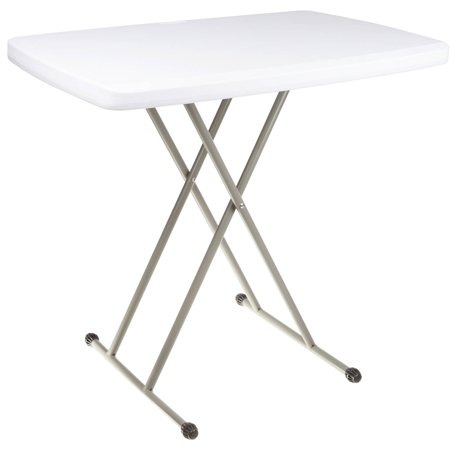 Folding Table, Foldable Table and TV Tray by Everyday Home, 30 x 20 x 28 (Great for (Best Tray Table With Foldable Legs)