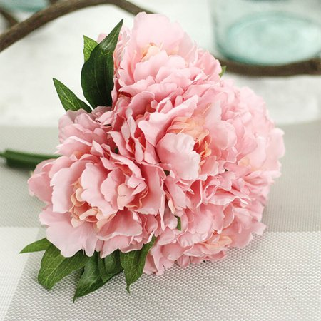 Mosunx Artificial Fake Flowers Leaf Magnolia Floral Wedding Bouquet
