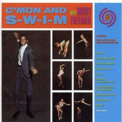 C'MON AND S-W-I-M features the original album plus non-LP sides, 8 alternate takes, and unreleased tracks.