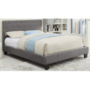 WHI 101-469D-GY Summit 54 in. Bed, Grey