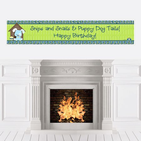 Boy Puppy Dog - Party Decorations - Birthday Party - Puppy Dog Birthday Decorations