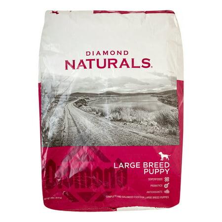 Diamond Naturals Large Breed Puppy, 40 - Diamond Large Breed Puppy Food