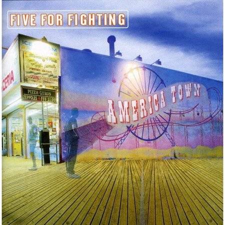 America Town by Five for Fighting (CD, Sep-2000, Aware Records