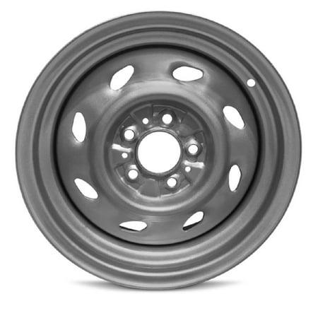 Road Ready 15 inch Steel Wheel Rim for Ford Explorer (93-01) Mountaineer (97-01) Ranger (93-09) 15 x 6 inch Silver 5 Lug