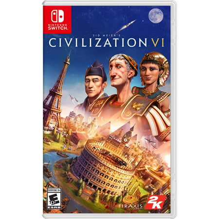 Sid Meier's Civilization VI, 2K, Nintendo Switch, 710425553677 (Wings Of Vi Game)
