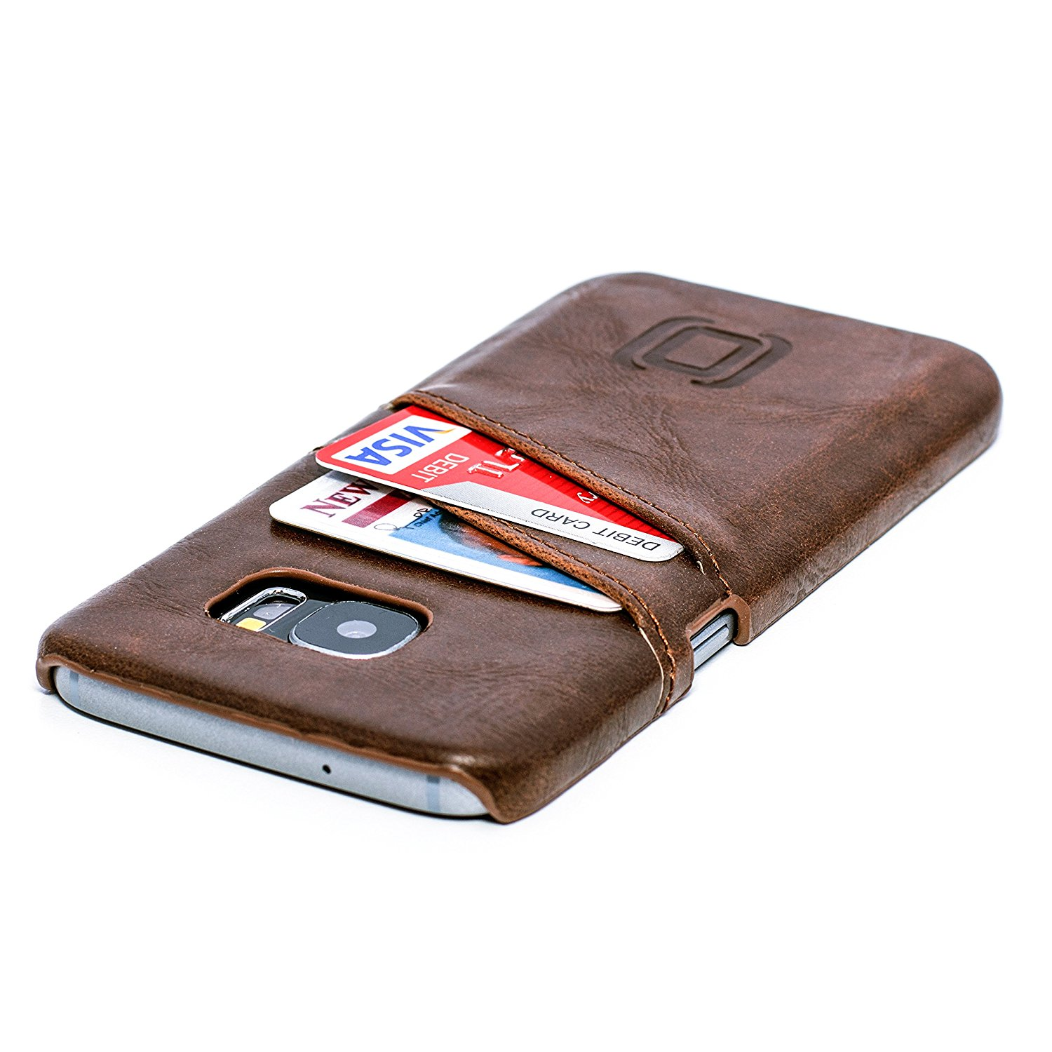 separation shoes 13fbf eb520 Samsung Galaxy S7 Card Case by Dockem- Vintage Synthetic Leather ...