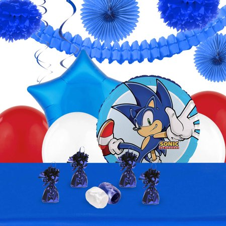 Sonic the HedgeHog Deco Kit - Sonic The Hedgehog Party Decorations