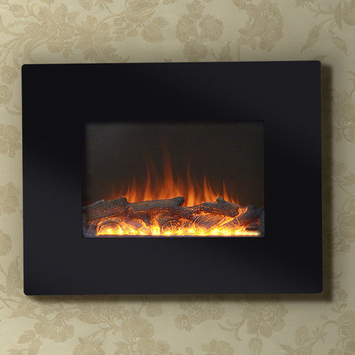 Homestar Flamelux 26'' Wide Wall Mount Electric Fireplace