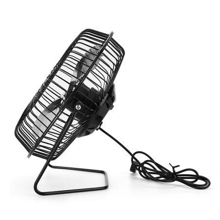 WALFRONT USB Solar Panel Powered Mini Portable Fan for ...