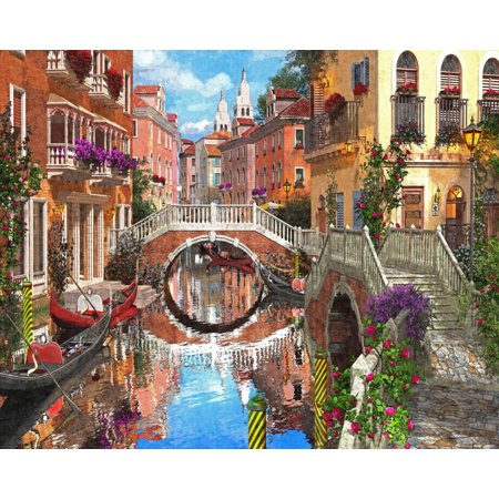 Vermont Christmas Company Venetian Waterway  1000 Piece Jigsaw Puzzle by Vermont Christmas