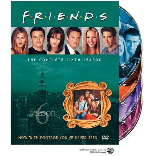 Video Systems Friends-complete Seasons 1-6 [dvd/custom Bu...