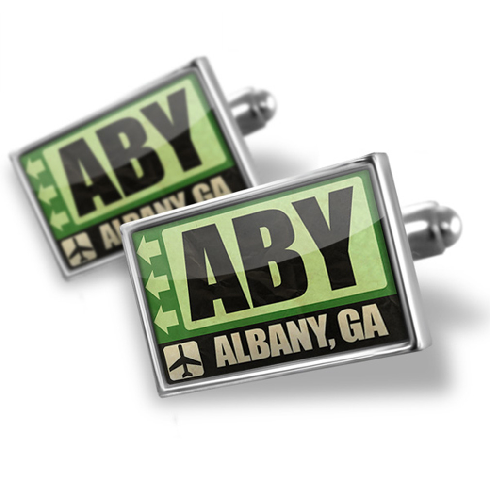 Cufflinks Airportcode ABY Albany, GA - NEONBLOND