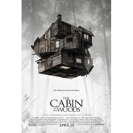 The Cabin in the Woods (2012) 27x40 Movie Poster - Painting Cabin In The Woods