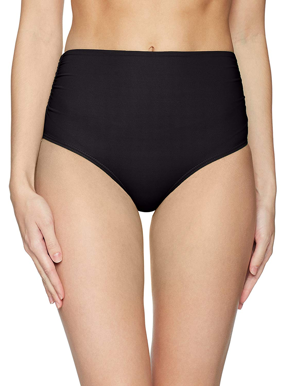 a7face9cf8 Anne Cole - Anne Cole Women's High Waist to Fold Over Shirred Bikini Bottom  - Walmart.com
