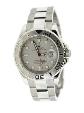 Pre-Owned Rolex Yacht-master 16622 Steel 40mm  Watch (Certified Authentic & Warranty)