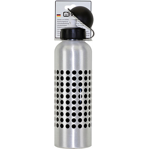 750ml Water Bottle, Silver Alloy