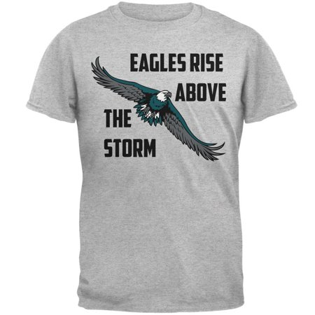 Low Rise Eagle (Eagles Rise Above The Storm Mens T Shirt)