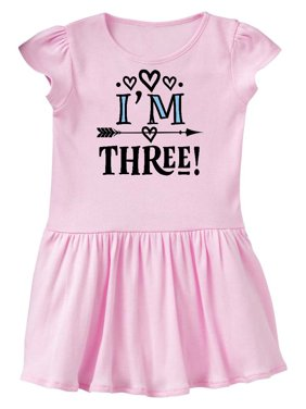 8348604f7e76 Product Image 3rd Birthday 3 Year Old Arrow Toddler Dress