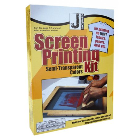 Jacquard Professional Quality Screen Printing Kit](Screen Print Kit)