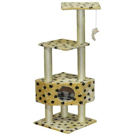 Ir a Club de mascotas 5139; 39; Árbol del gato impresión de la pata + Go en Veo y Compro