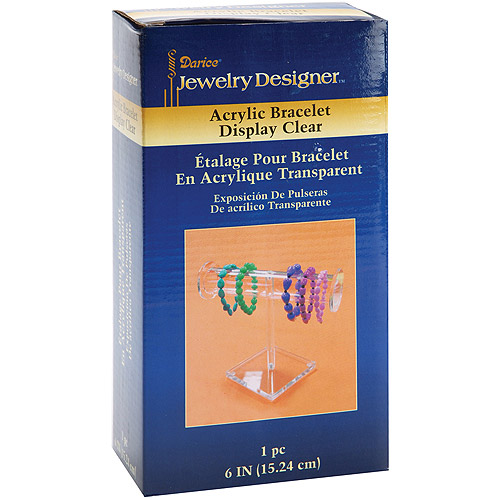 "Bracelet Display 6"", Clear Acrylic"