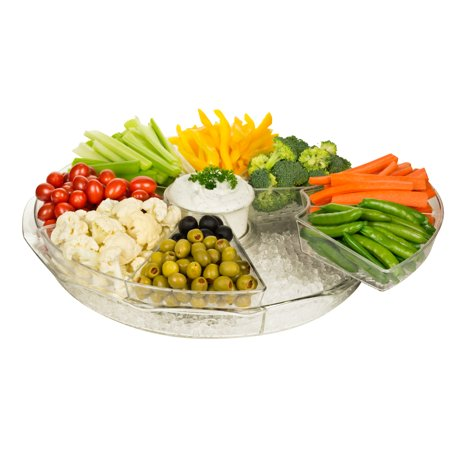 - Appetizer Platter with Ice Chiller