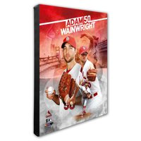 "St. Louis Cardinals Adam Wainwright 16"" x 20"" Player Canvas - - No Size"