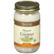 Spectrum Naturals: Organic Coconut Oil, 14 Fl Oz