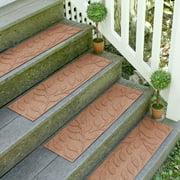 Tucker Murphy Pet Beaupre Medium Brown Leaf Stair Tread (Set of 4)