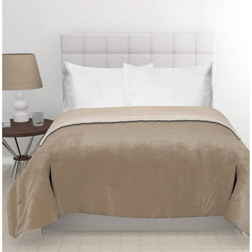 East End Living Mink Reverse To Sherpa Bedding Comforter