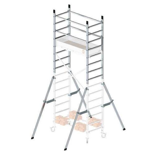 HAILO 9902-101 Scaffold Add-On, 396 lb., Aluminum by HAILO