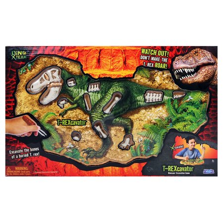 Jurassic World T. Rex Bone Extractor - Uncle Milton Scientific Educational Toy - T Rex Model