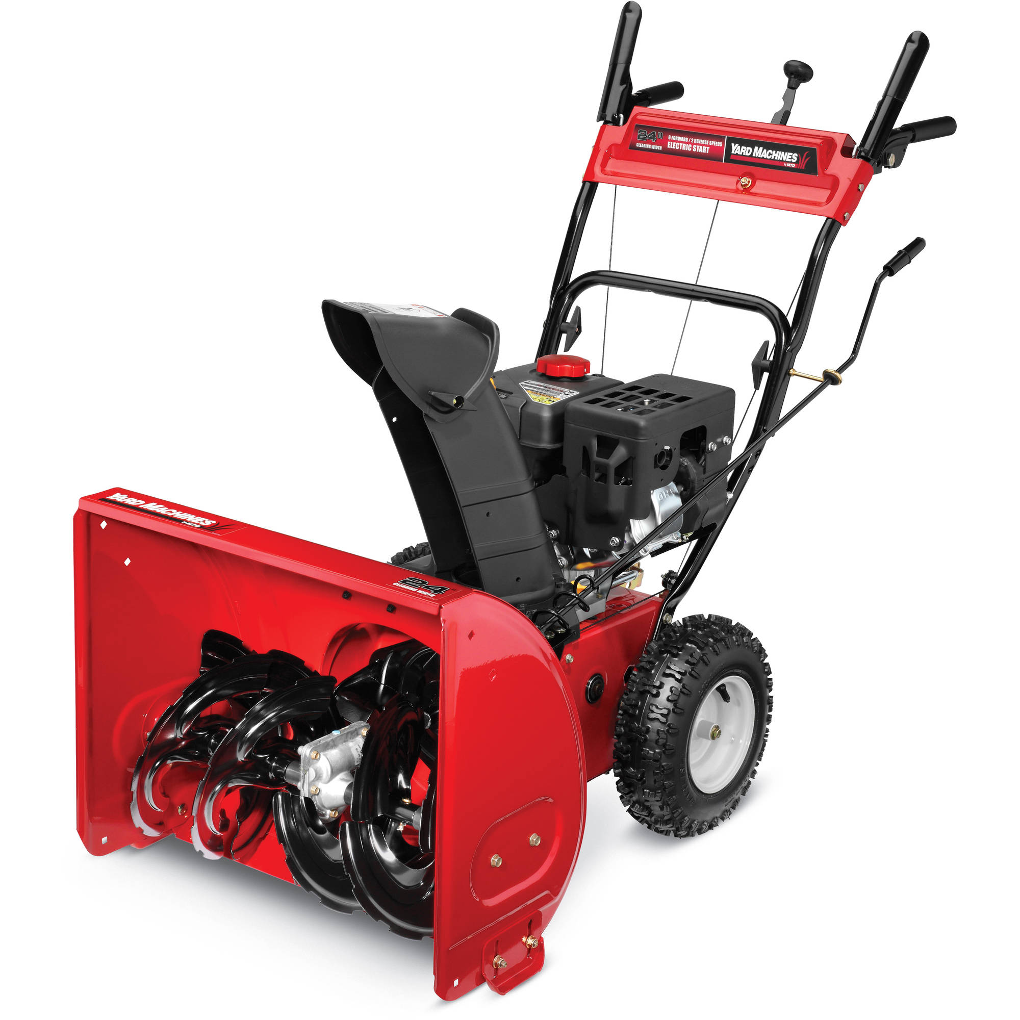 "Yard Machines 24"" 2-Stage Snow Blower"