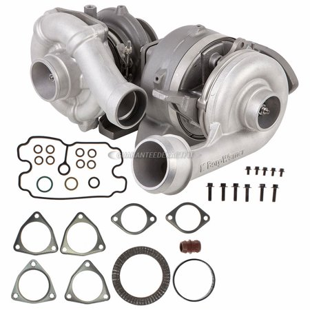 Compound Turbo Kit With Turbocharger Gaskets For Ford F250 F350 F450 6 4  Diesel - Walmart com