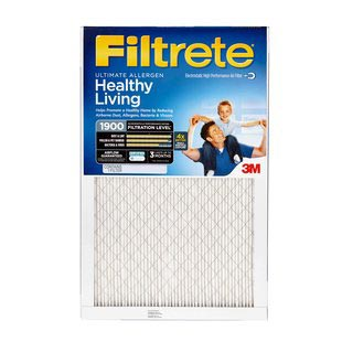 12x24x1 (11.7 x 23.7) Filtrete Ultimate Allergen Reduction 1900 Filter by 3M (2 Pack) by 3M Filtrete