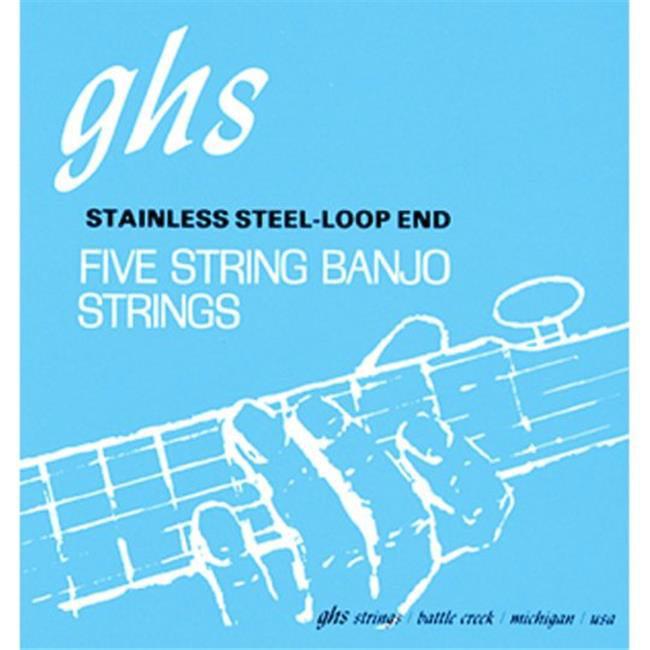 SCY PF140 GHS Banjo String 5 String J.D. Crow Sig Studio by SCY