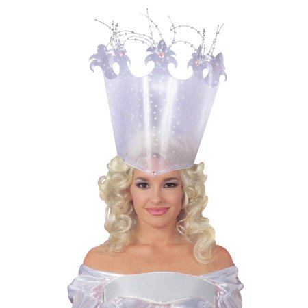Good Fairy Crown Witch Wizard Of Oz Glinda Glenda Headpiece Princess Hat - Glenda The Good Witch
