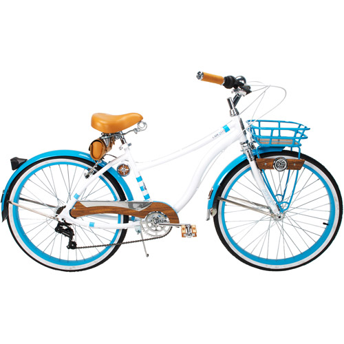 "26"" Huffy Cape Cod Newbury Women's Cruiser Bike, Soft White"