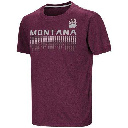 Youth University - University of Montana Youth T-Shirt Perforrmance Athletic Shirt
