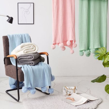 Wash Knitted Blanket (39