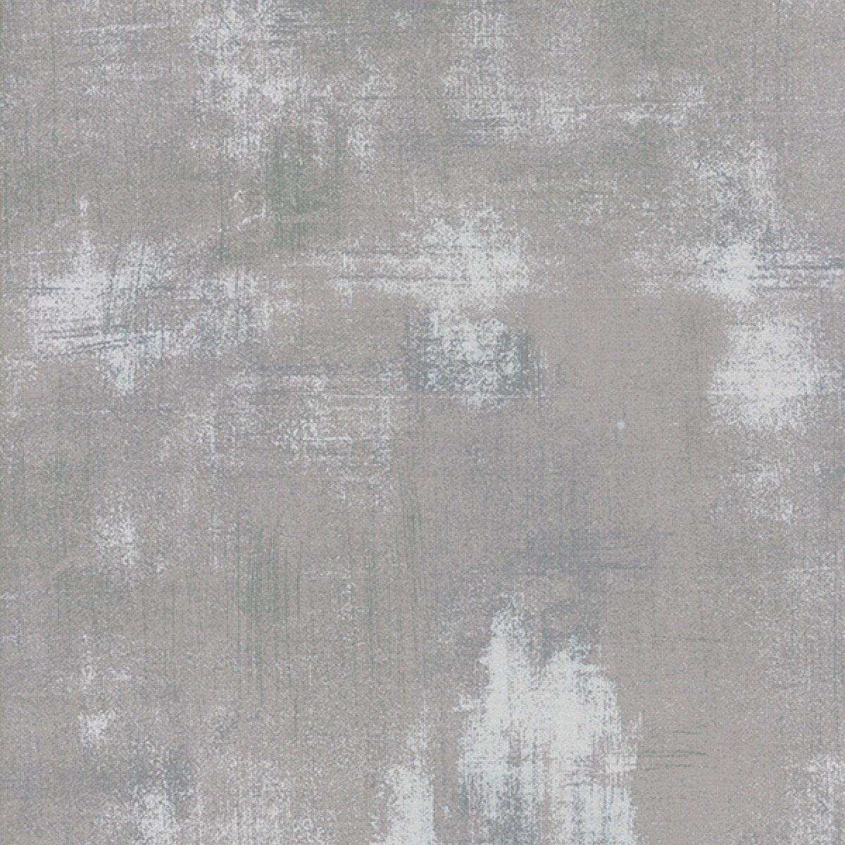 Moda Fabrics Grunge Texture New Colors 2017~ Silver  Cotton Fabric